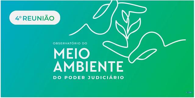 10/08/2021 4ª Reunião do Observatório do Meio Ambiente