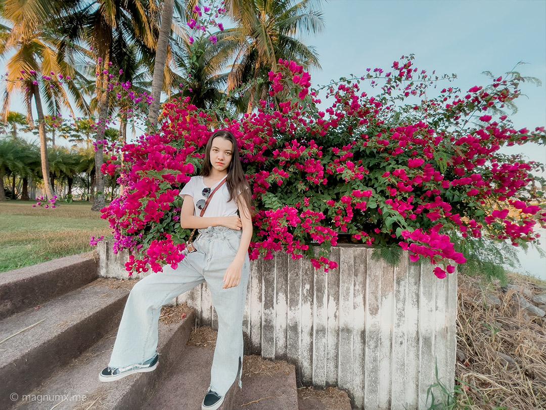 ถ่ายรูปคนแต่เน้นวิวเยอะเหน่อย ที่สวนสาธารณะหนองประจักษ์ นางแบบ น้องพลอย @xxqloy