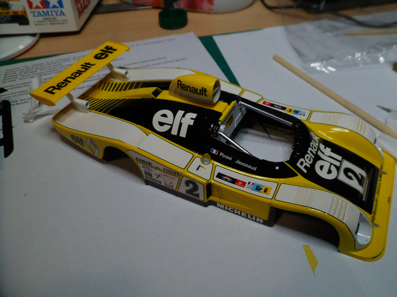 From the box - Alpine Renault A442B Turbo [Tamiya 1/24] *** Terminé en pg 7 - Page 6 51370625240_69aed01f6f_c