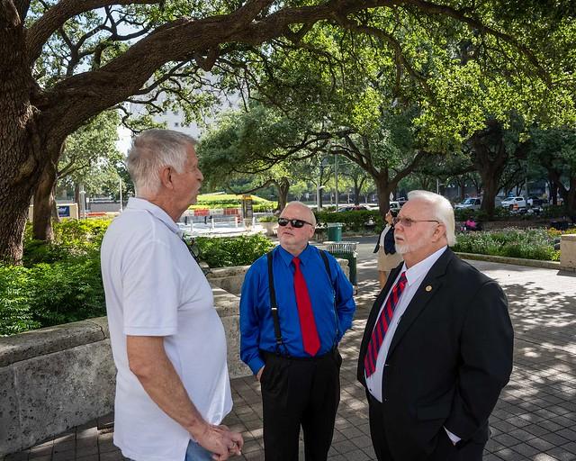 Doug Smith, Randy Kubosh and Michael Kubosh