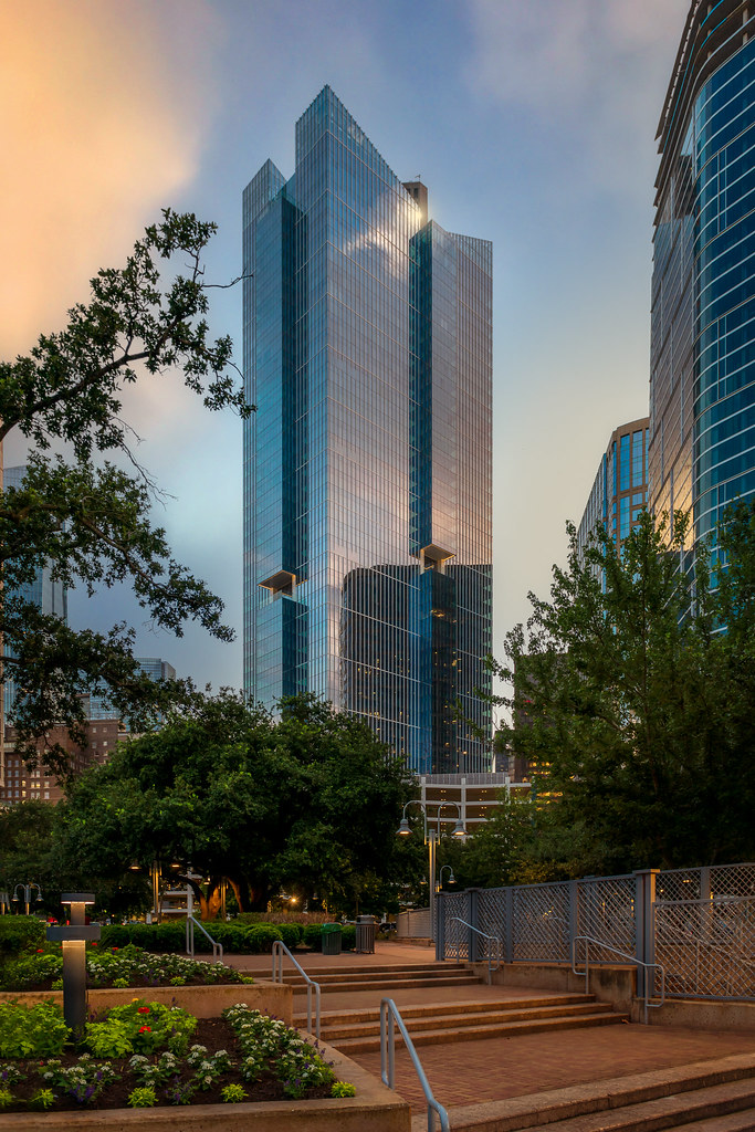 Texas Tower as Seen from Market Square