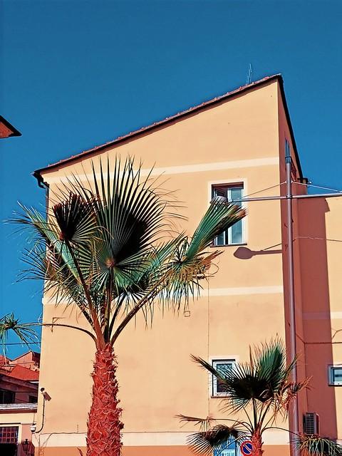 At the Italian Riviera