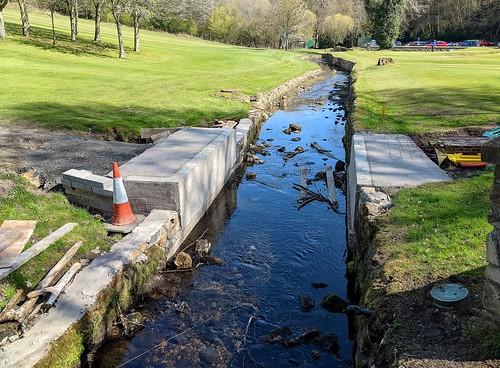 Bridge Work, Balbirnie Golf Course