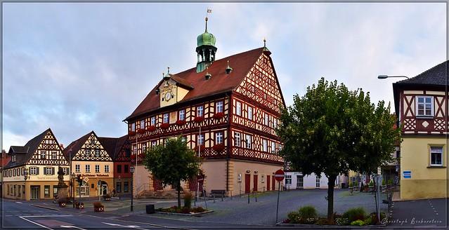 Marktplatz zu Bad Staffelstein