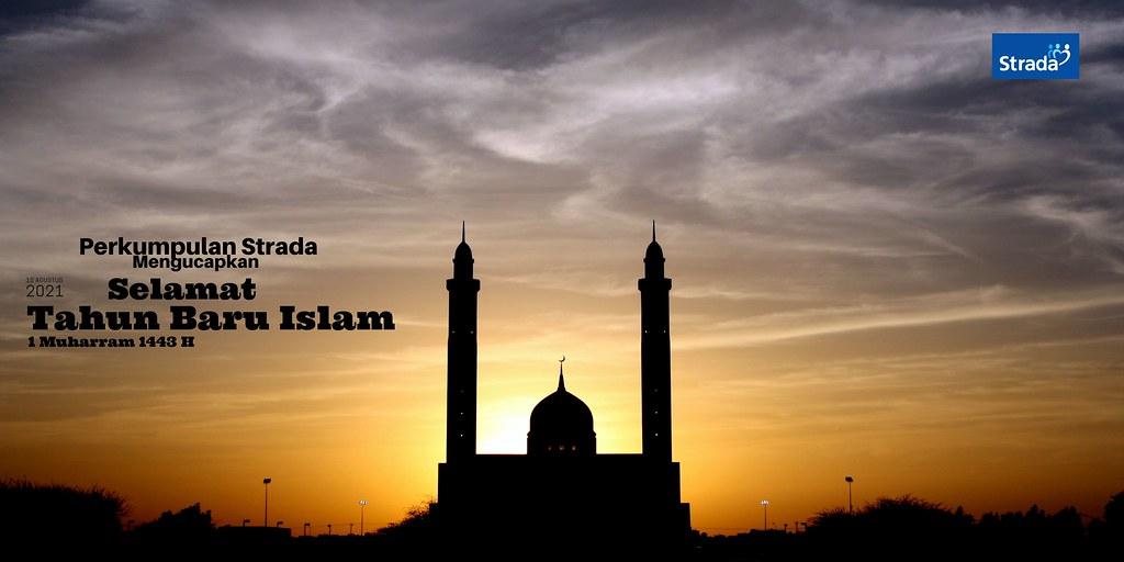 Ucapan Selamat Tahun Baru Islam 1 Muharram 1443 H