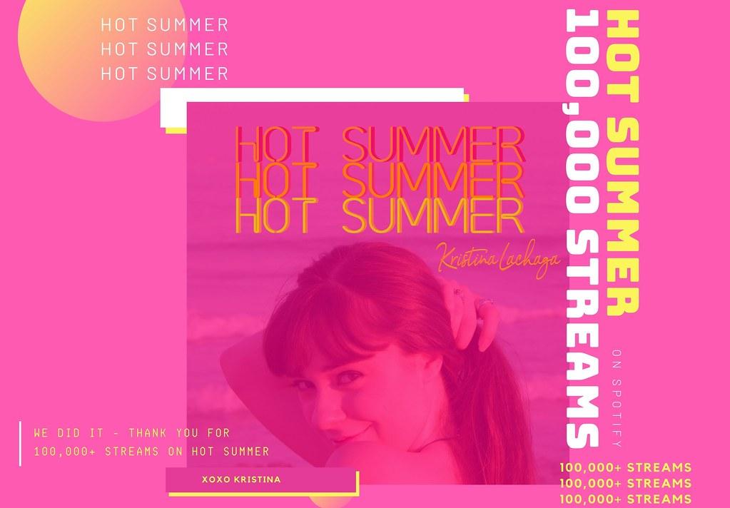 Kristina Lachaga - #HotSummerCelebration