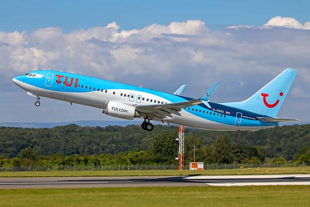 TUI Airways - Boeing 737-8K5/W G-FDZU @ Bristol