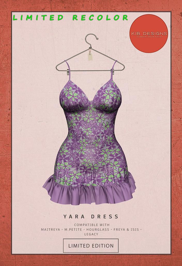 KiB Designs – Yara Dress EXCLUSIVE @Happy 99 Event 14th Aug.