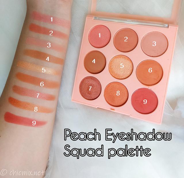 squad  peach palette swatch