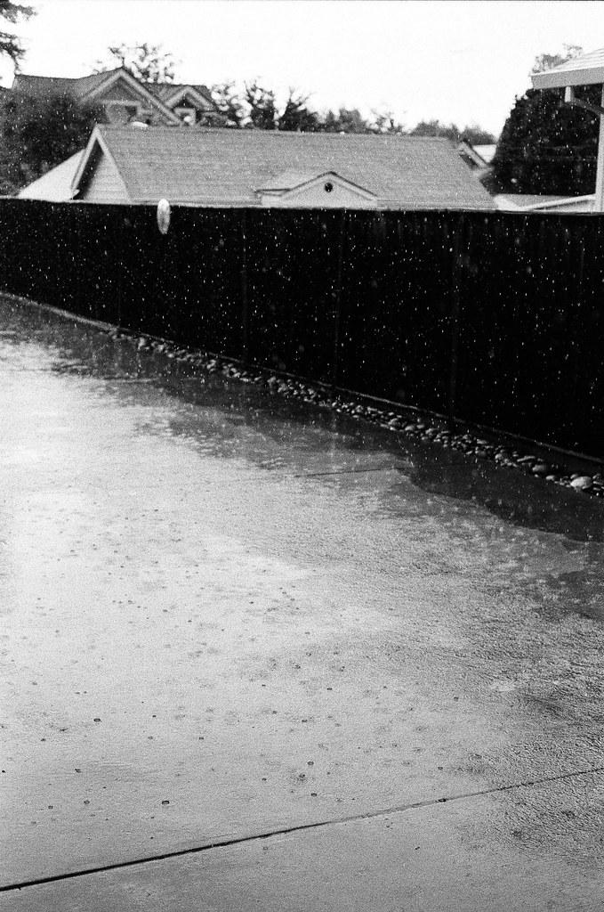 Rain in Santa Clara
