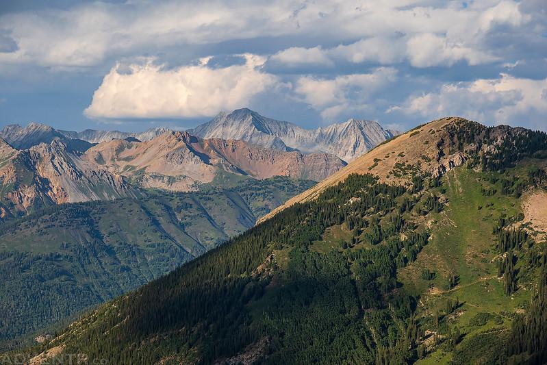 Past Whitehouse Mountain