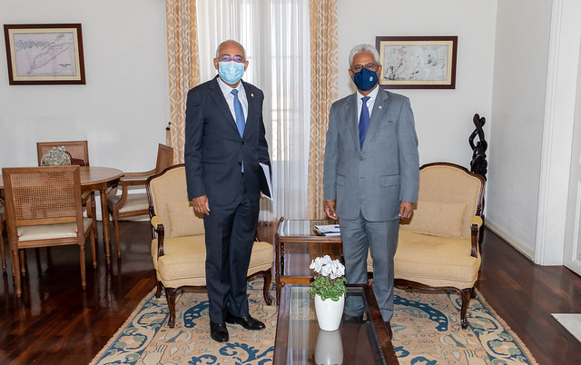 21.08. Secretário Executivo recebe Embaixador de Angola em Portugal