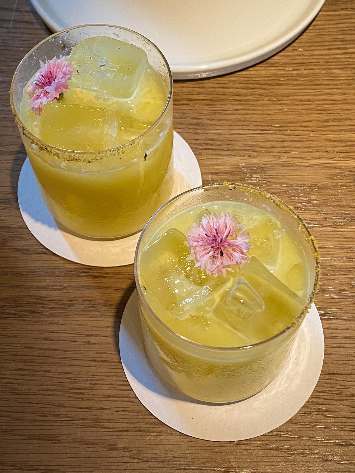 North Fork Table & Inn   Sweet Maize Margaritas