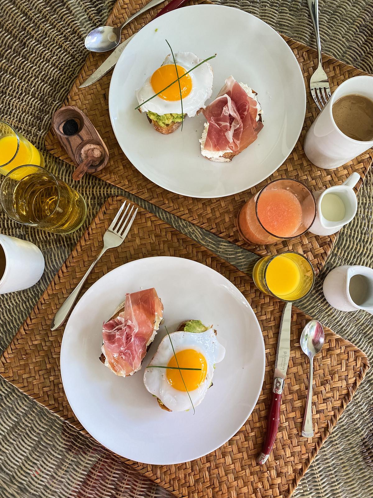 Avocado Toast Ricotta Toast Breakfast   The Harvest Inn Bed & Breakfast