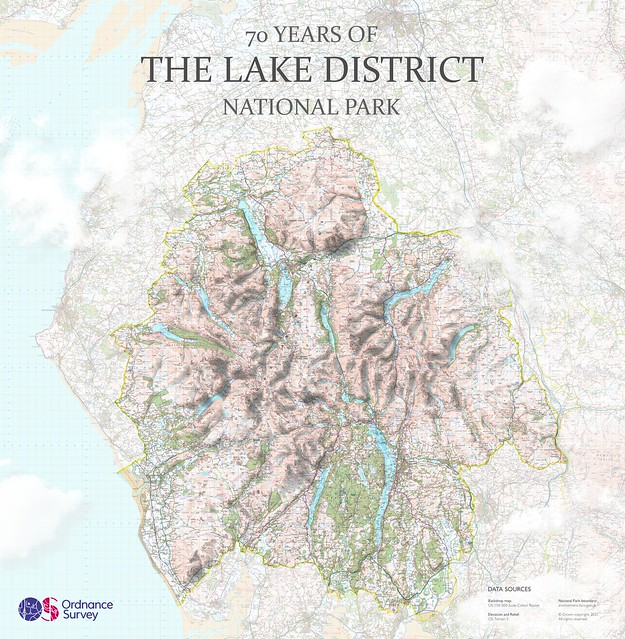 The Lake District National Park data visualisation