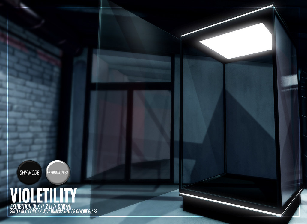 Violetility – Exhibition Box