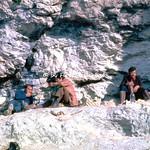 Vallepietra (RM), 1976, Santuario della Santissima Trinità: il pellegrinaggio e i pellegrini.