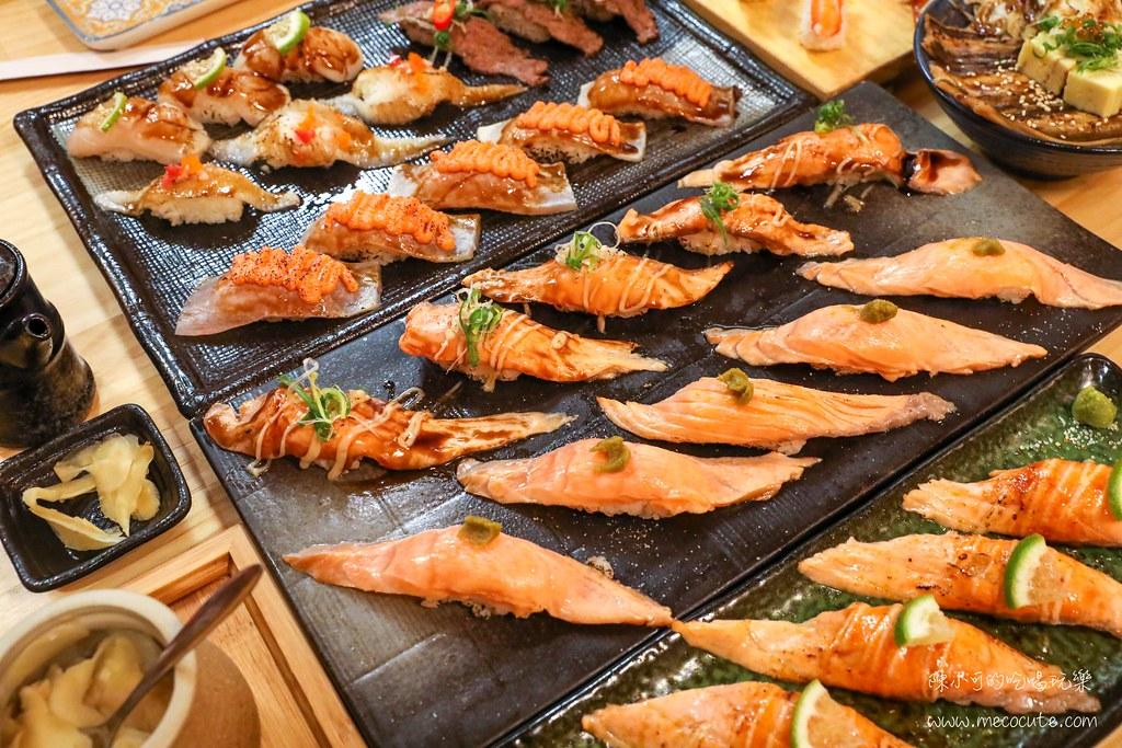 在地生意超好的日式料理店,點滿貫壽司最壯觀!運氣好訂到包廂座位