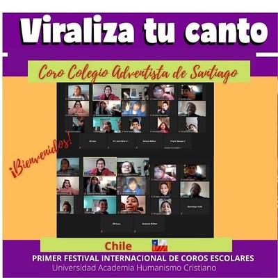 """Conoce a los/as participantes del Primer Festival internacional de Coros Escolares """"Viraliza tu canto"""""""