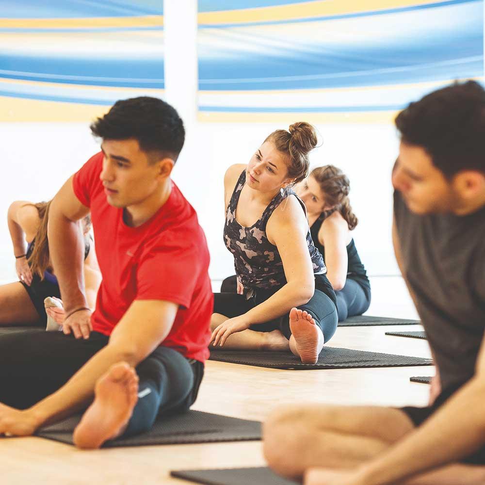 Yoga in the STV.