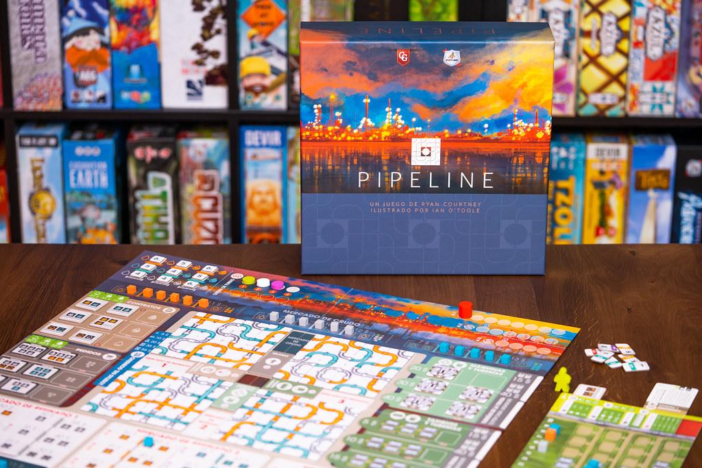 Pipeline boardgame juego de mesa