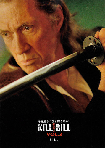 David Carradine in Kill Bill, Vol. 2 (2004)