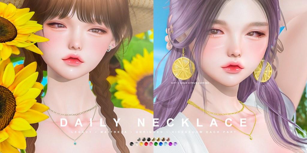cheezu. daily necklace x FLF Bday Bash '21