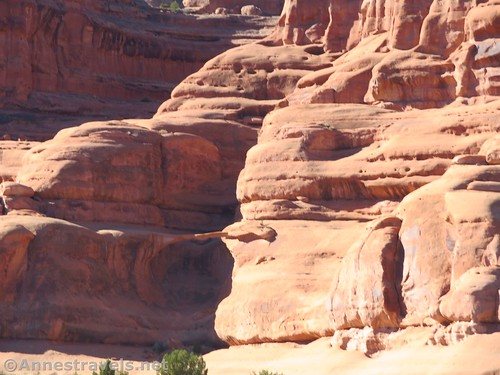 Approaching Ring Arch, Arches National Park, Utah