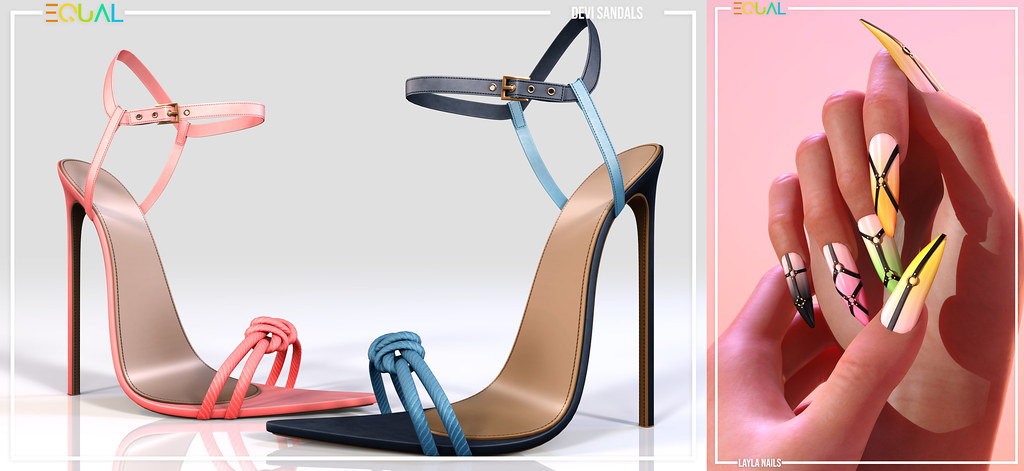 EQUAL – Devi Sandals and Layla Nails