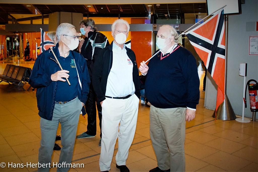 Flughafen - Empfang der NRV Olympic Team Segler