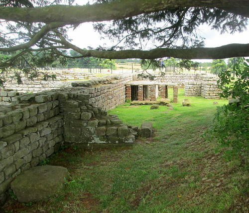 By Commandant's House, Chesters fort, Northumberland