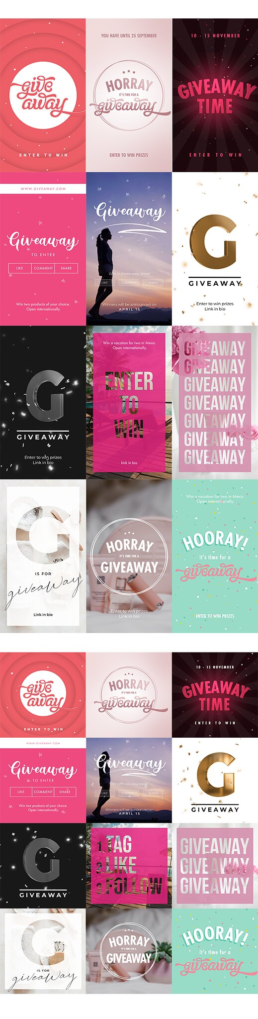 Instagram Giveaway - 3