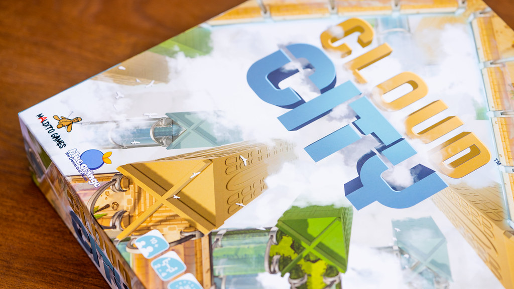 Cloud City boardgame juego de mesa