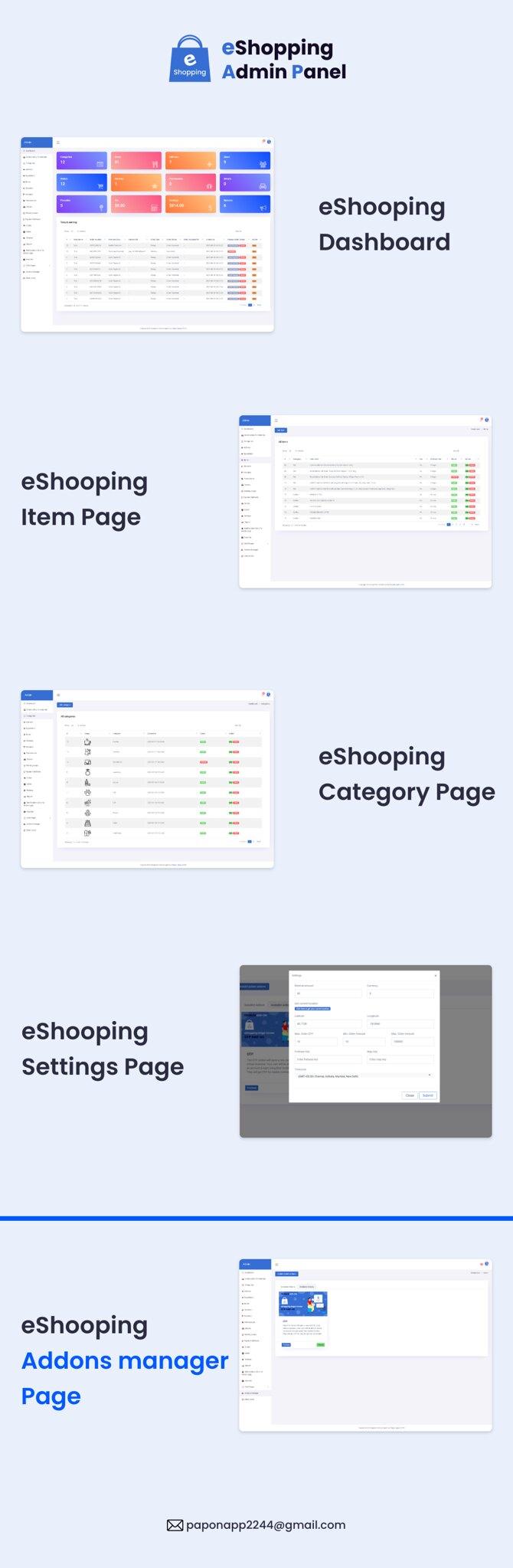 eShopping | Single Vendor Multi Purpose eCommerce System - Laravel Website - 13