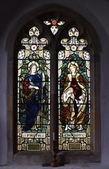 Faith and Charity (Powell & Sons, c1910)