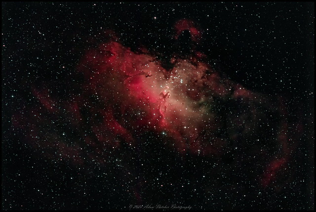 Eagle Nebula 300s x5