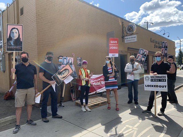 DSDL Hotel Boycott - Edmonton