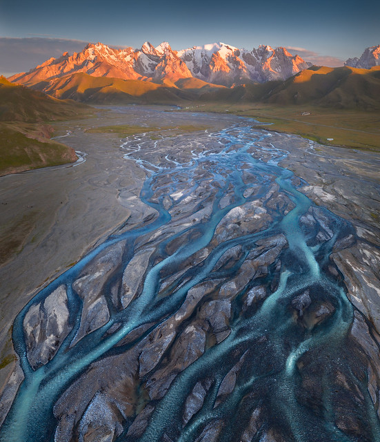 Kok-Kiya Valley Rivers