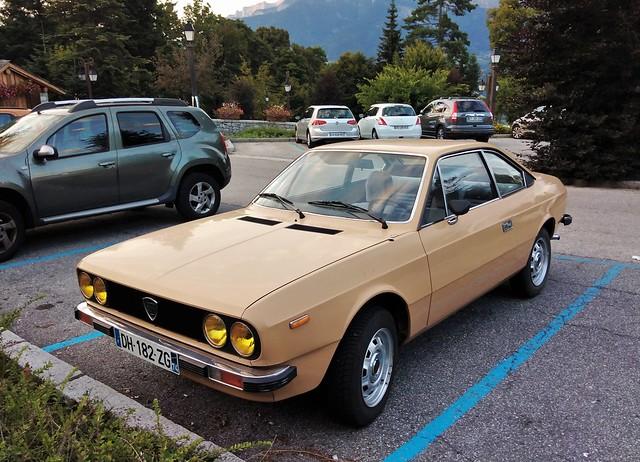 Lancia Beta Coupé 1300 Combloux (74 Haute-Savoie) 10-08-21a