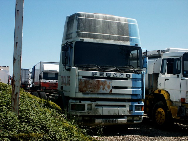 Pegaso Troner Truck 305 CAT RN 10 Monnaie (37 Indre et Loire) 16-05-04a