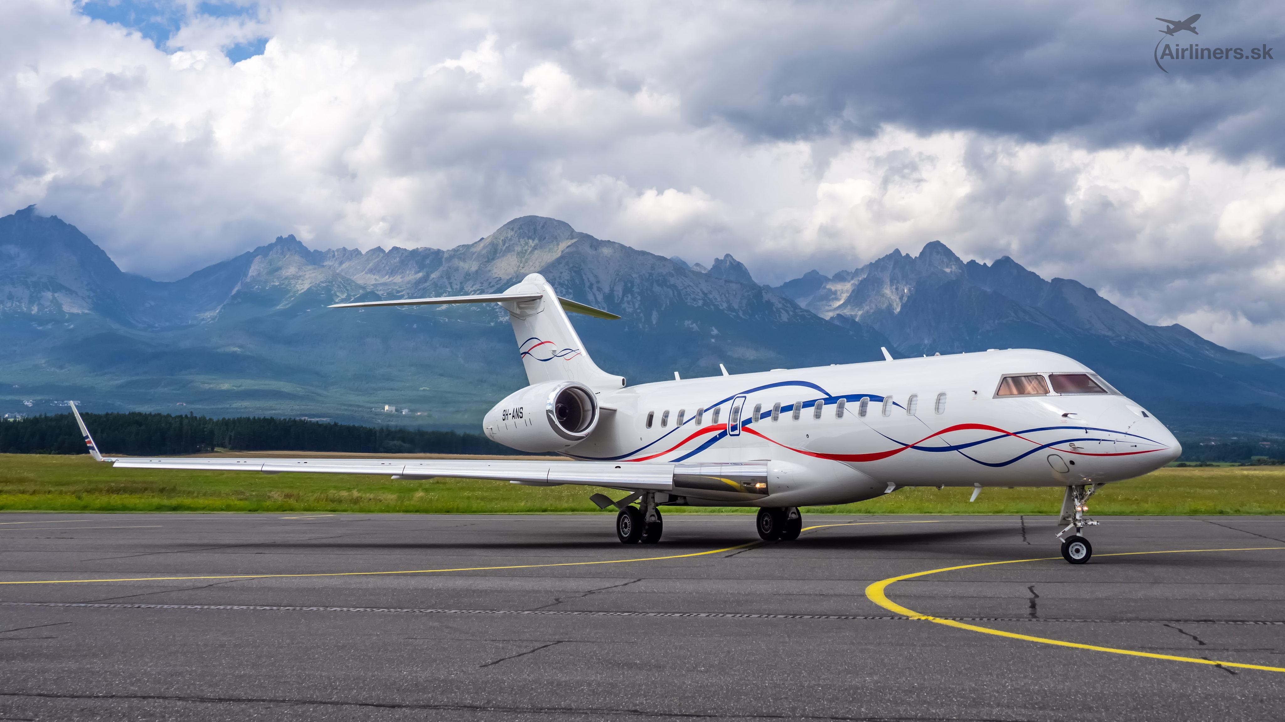 9H-ANS - GLEX - Bombardier BD-700-1A10 Global 6000
