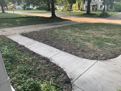 Walk Replaced from Drive to Front Door