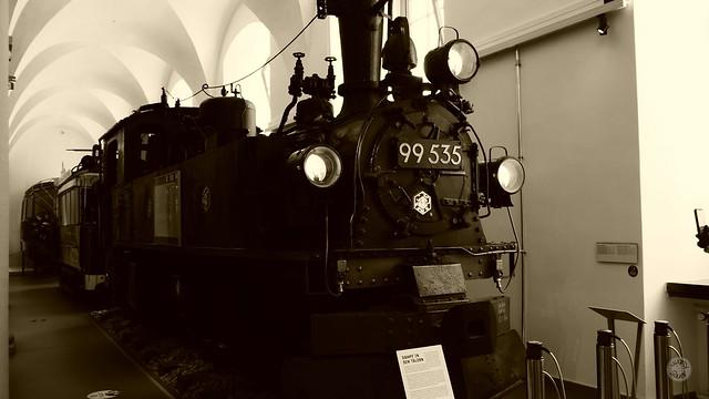 Dampflok - Verkehrsmuseum Dresden