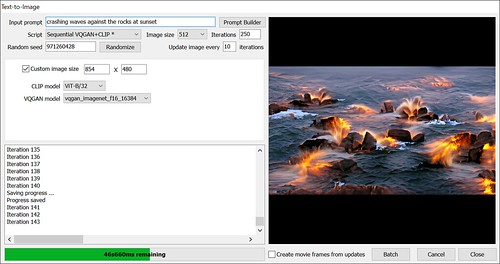 Text-to-Image GUI