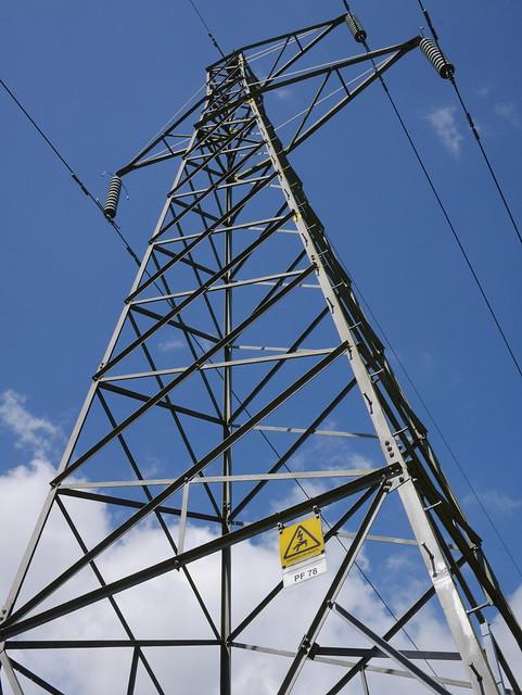 Pylon in East Sussex