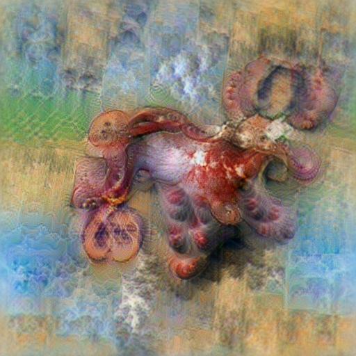 'an octopus' Aphantasia Text-to-Image