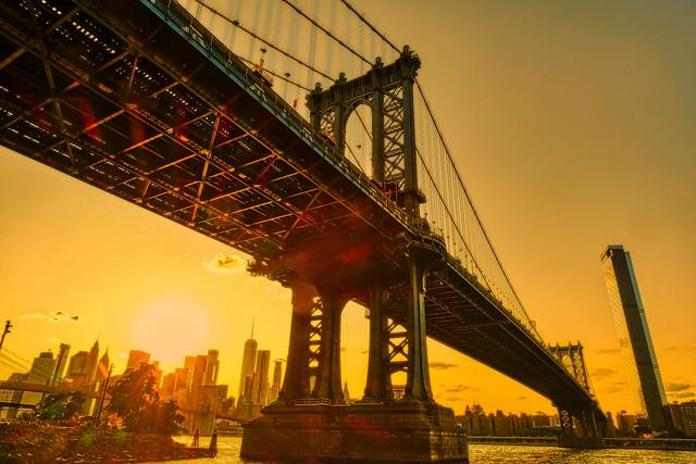The Golden Look - Manhattan Bridge