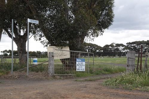 Entrance to the Truganina Pony Club