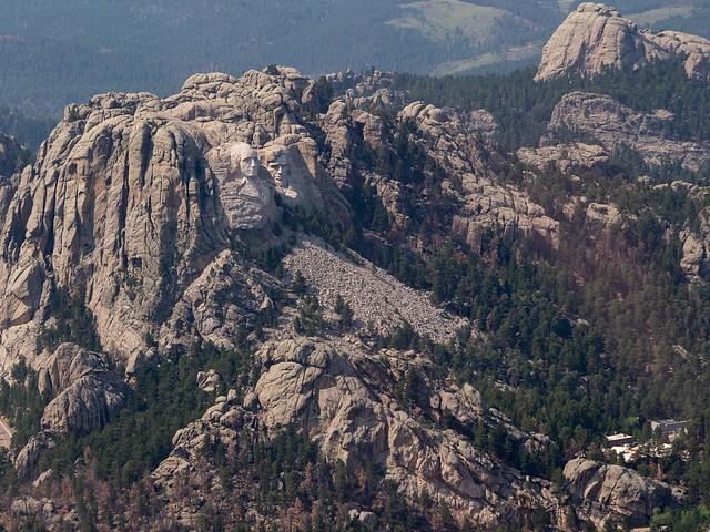 Bird's Eye View of Mount Rushmore