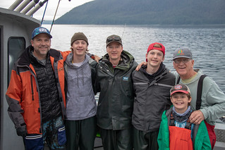 Tom & Brad & Charlie Leach & Aaron & Noah & Josiah Greeley
